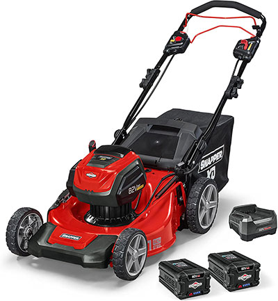 Snapper battery powered lawn mower