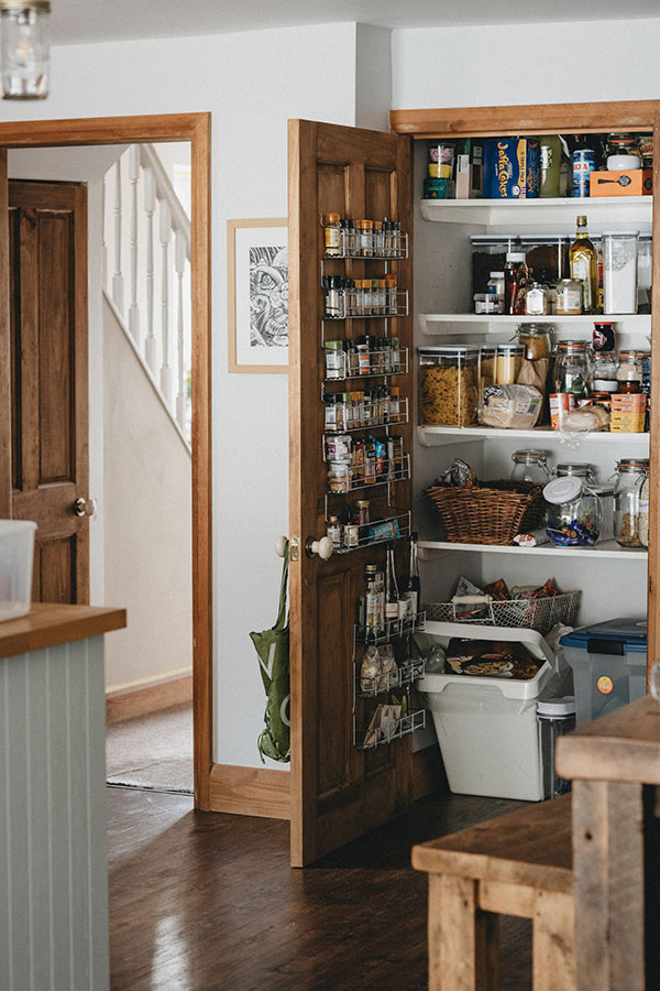 Give some personality to your pantry