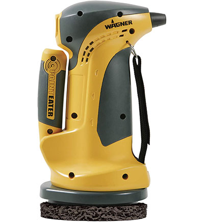 Wagner orbital disc sander for removing paint from wood