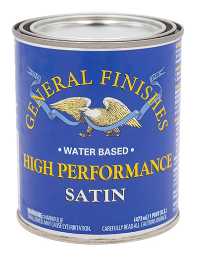 General Finishes High Performance Water Based Polyurethane