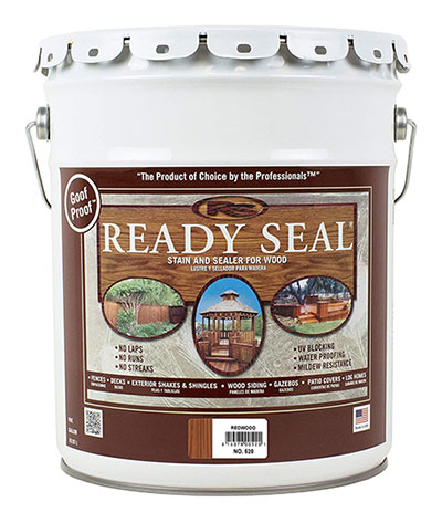 Ready Seal 520 Exterior Stain and Sealer for Wood