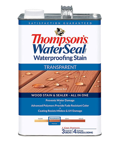 THOMPSONS Transparent Waterproofing Stain