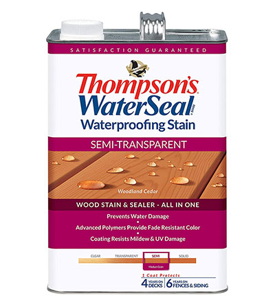 Thompsons Water Seal Semi-Transparent Stain