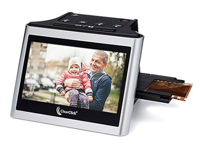 ClearClick Virtuoso 22MP Film and Slide Scanner