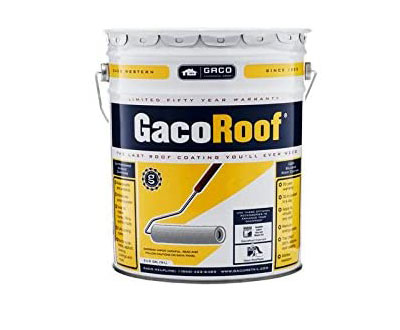 GacoRoof White Silicone Roof Coating