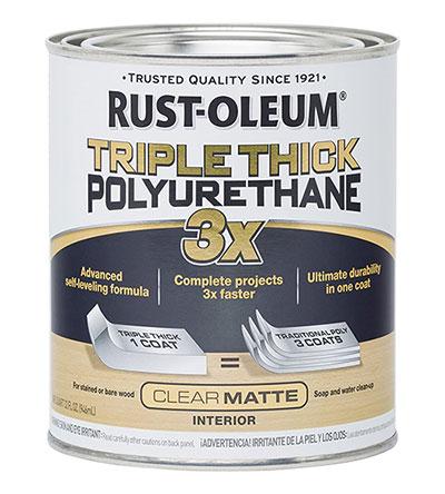 Rust-Oleum 302736 Triple Thick Polyurethane